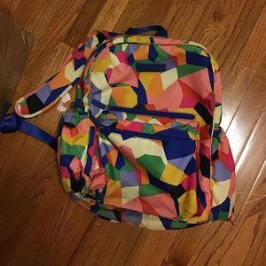 Bright Multi-Colored Vera Bradley Backpack